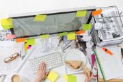 It's Okay to Have a Messy Desk
